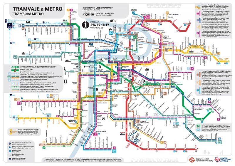 Карты (схемы) трамвайных