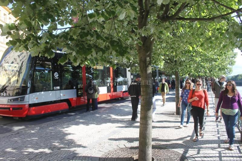 Трамваи в Праге 2