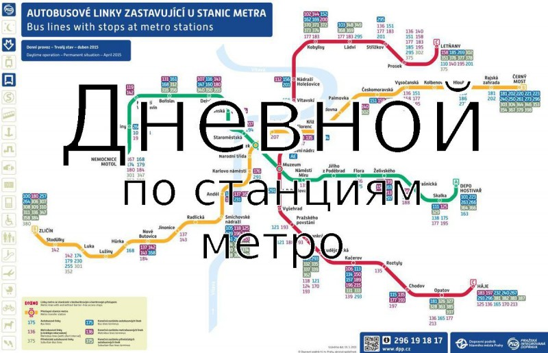 Фотографии Пражского метро