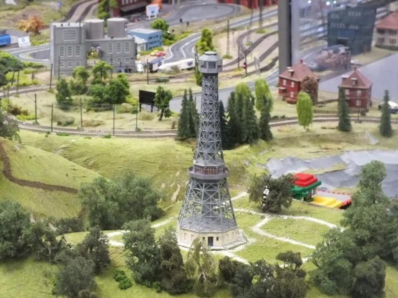 Королевство железных дорог - башня