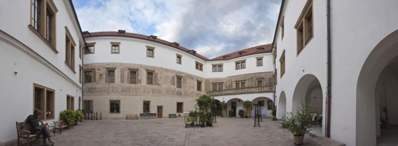 Мартиницкий дворец - двор
