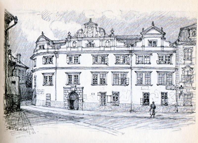 Мартиницкий дворец - история