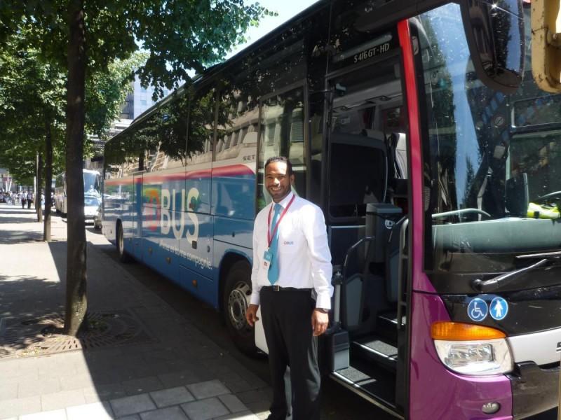 На автобусе из Брюсселя в Прагу