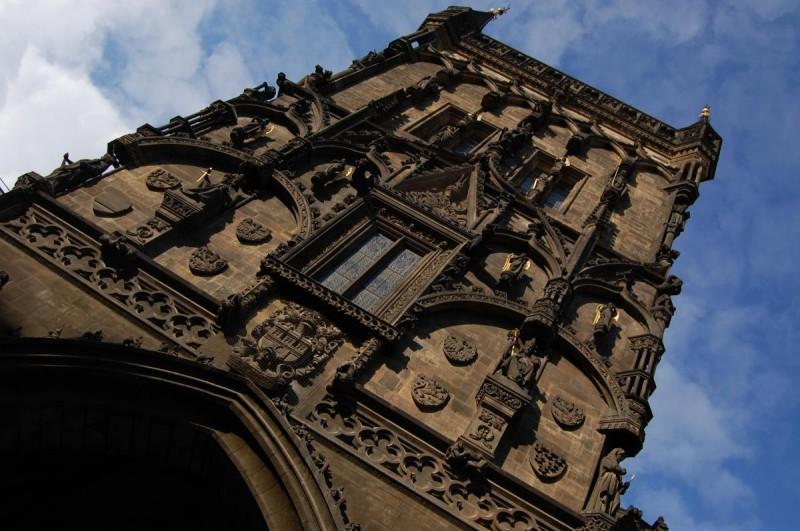 Пороховая башня - фасад