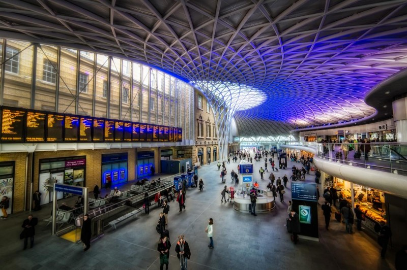 лондон жд вокзал