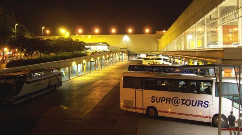 мадрид автовокзал
