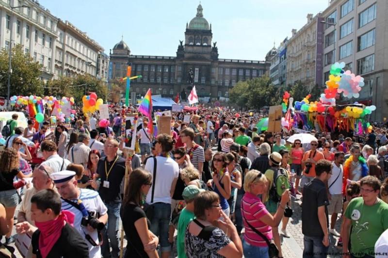 Гей-парад в Праге 4