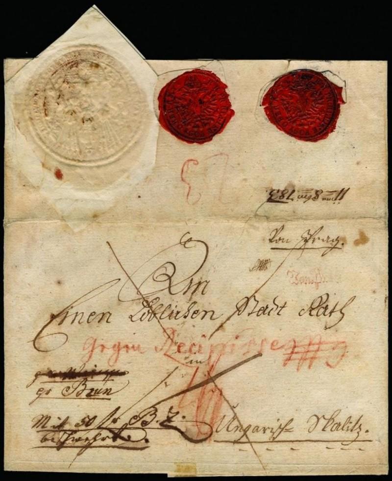 Музей почты - письмо