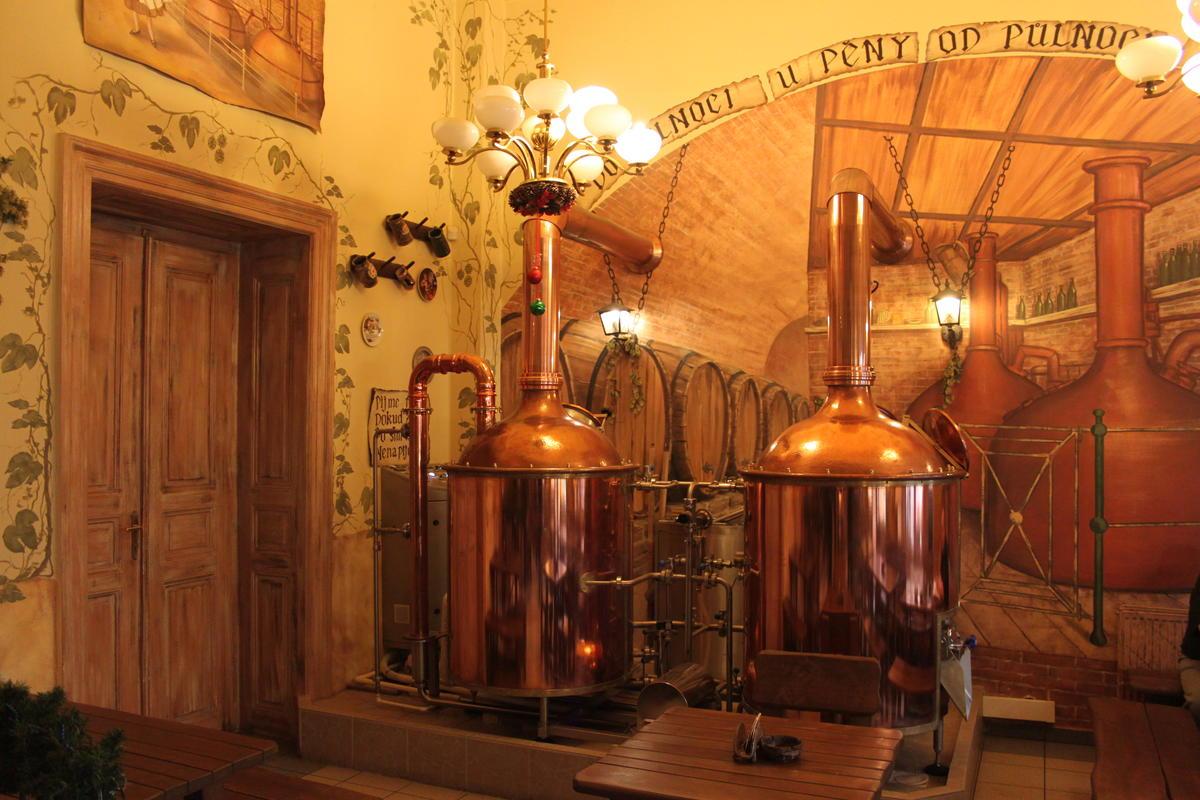 крупное производство пива