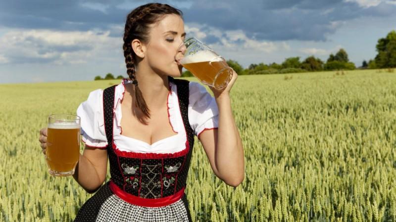 Чехии - пивные алкоголики