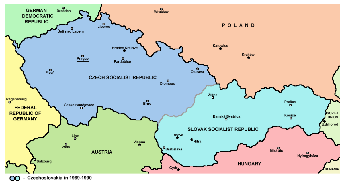 an examination of the improvement of czechoslovakia over slovakia Czechoslovakia desired it for historical reasons and because it was a coal-rich area, through which ran an important railway link to slovakia the duchy was partitioned between the two countries in 1920, with czechoslovakia receiving the larger, economically valuable western portion.
