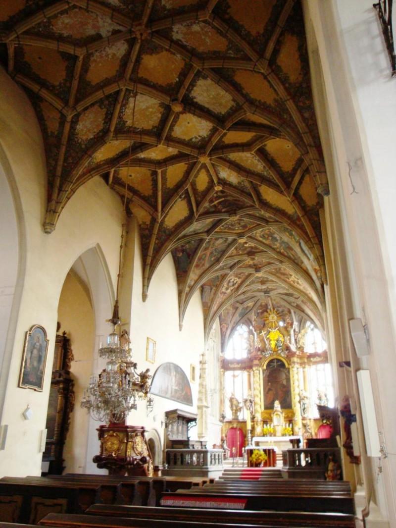 Костел Святых Петра и Павла - внутри