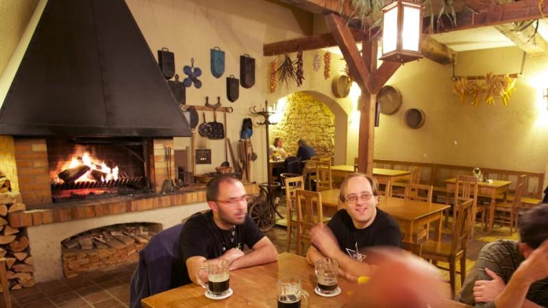 Пивная Монастырский шинок - зал
