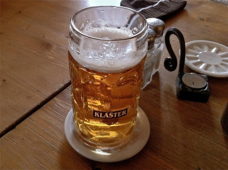 Пивная Монастырский шинок - пиво 2