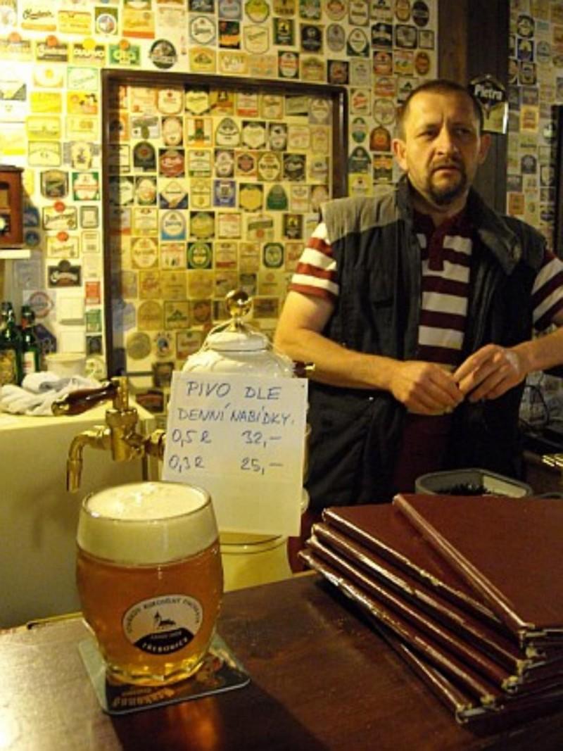 Rukodělný Pivovárek Třebonice - хозяин