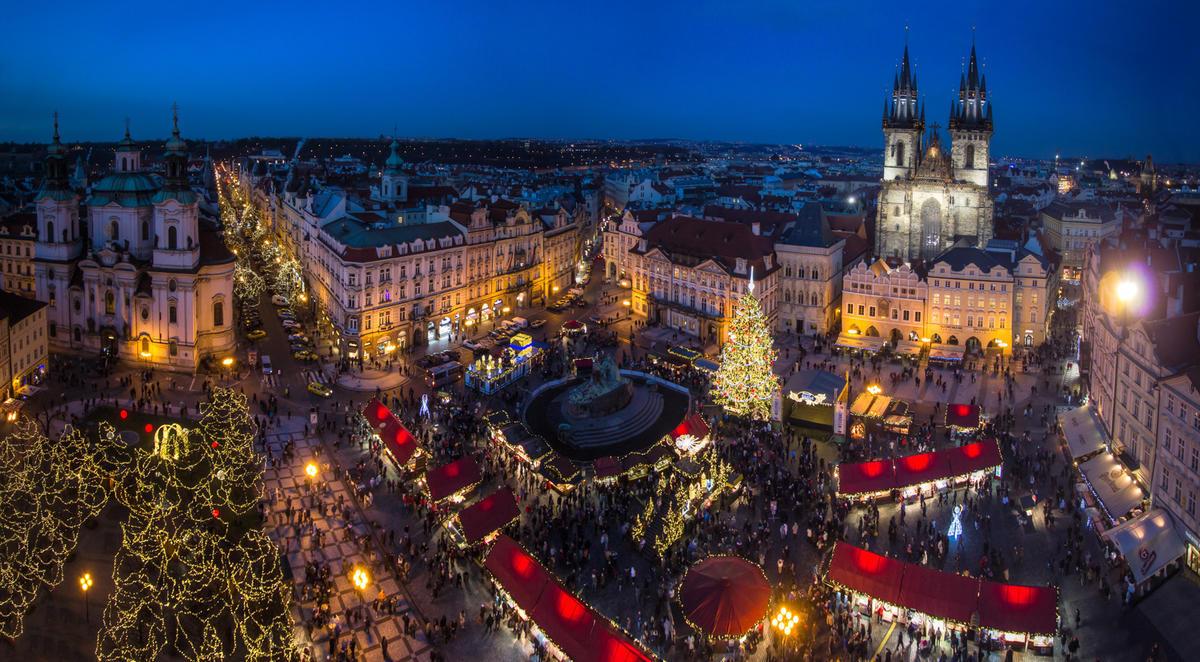 Прага на Новый год 2017