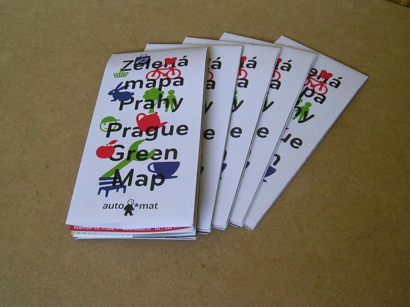 Зеленая карта Праги