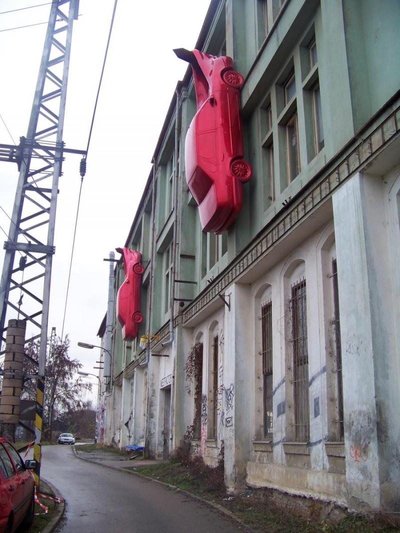 Красные автомобили 2
