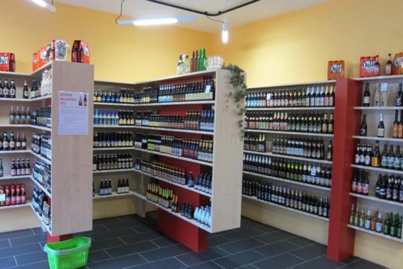 Пивная Мозайка - Pivní Mozaika - зал