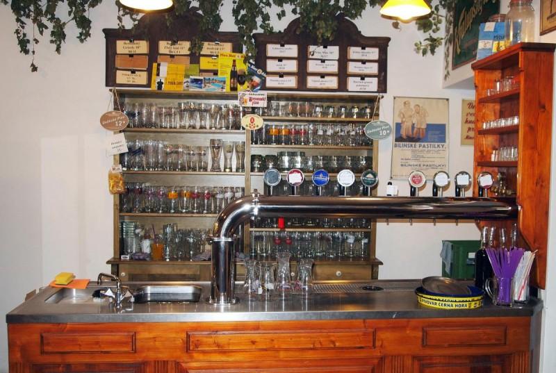 Пивная Трактир у водяного паука - Hostinec U Vodoucha - бар