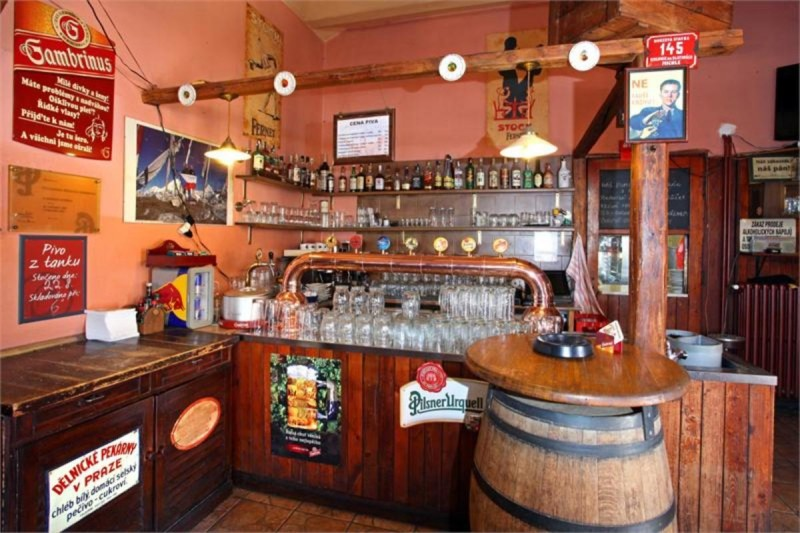 Пивная Dejvická sokolovna - бар