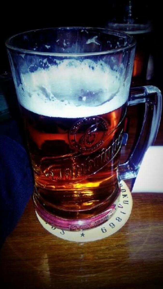 Пивная U Průhonu - пиво