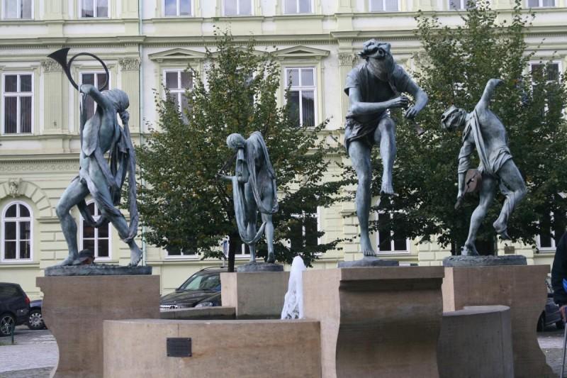 Tančící kašna, Čeští muzikanti