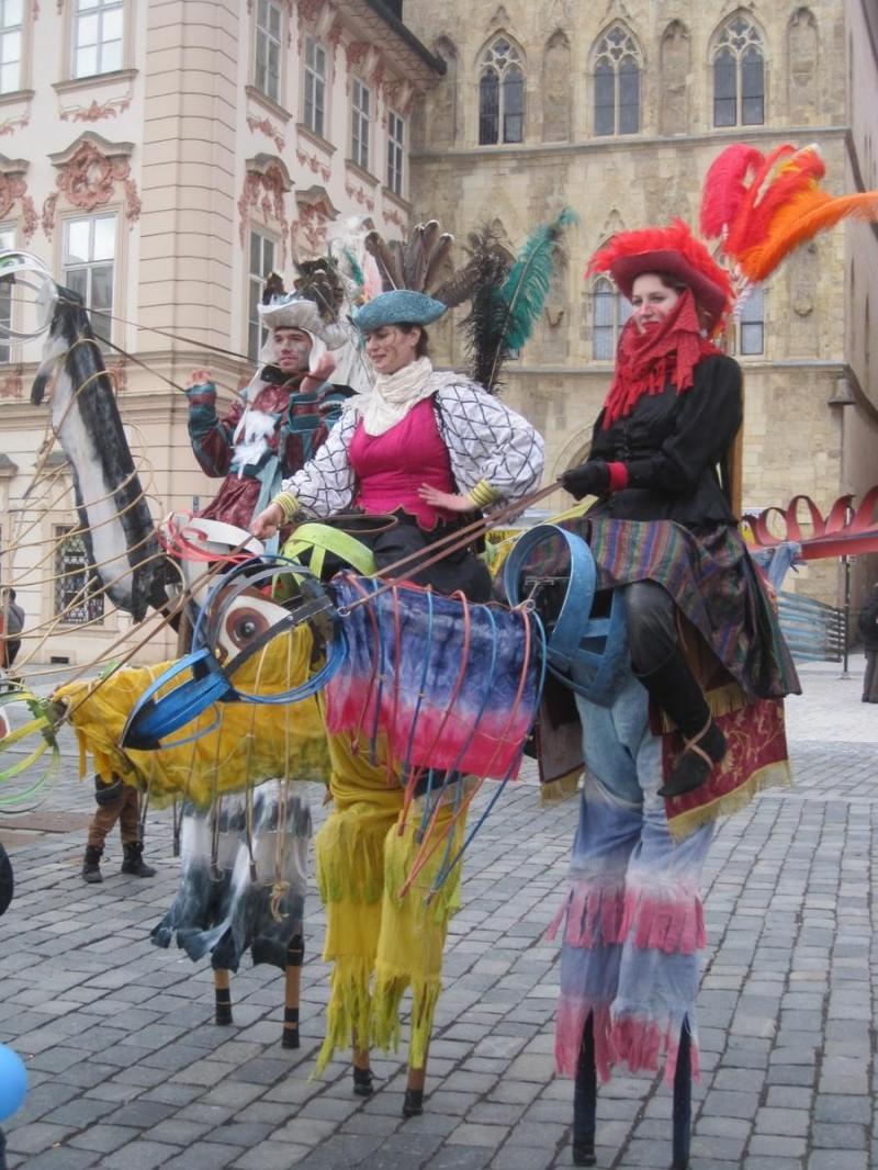 Богемский карнавал в Праге 8