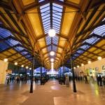Вокзал имени Масарика - внутри