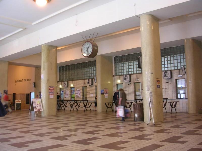 Вокзал имени Масарика - внутри 2