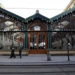 Вокзал имени Масарика - вход