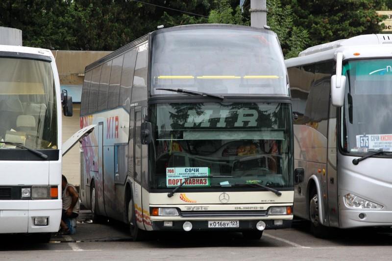 На автобусе из Сочи в Прагу