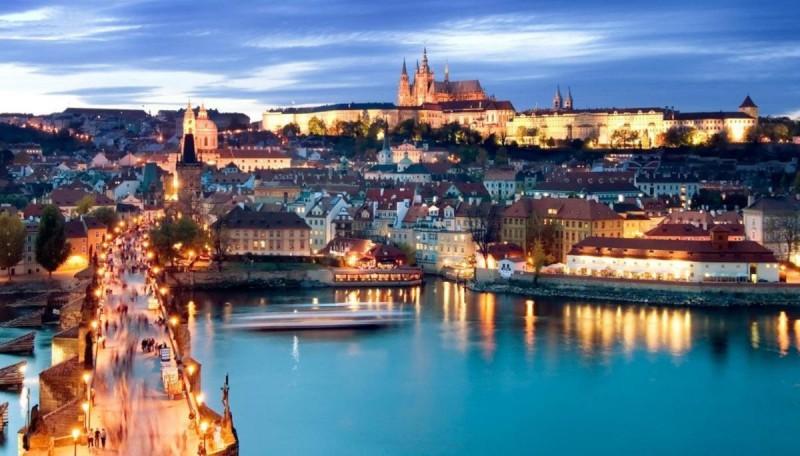 Погода в Праге летом 2
