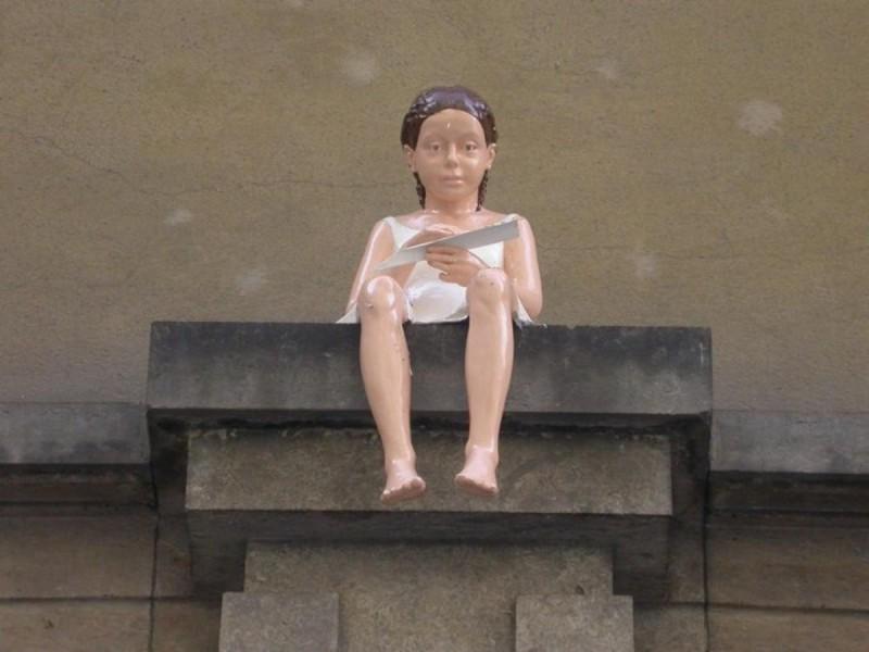 Скульптура Ласточка 3