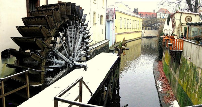 Велкопржеворская мельница - зимой