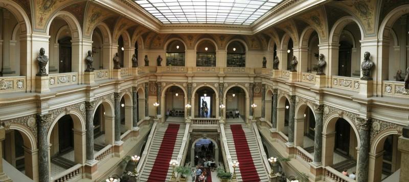 Национальный музей - внутри