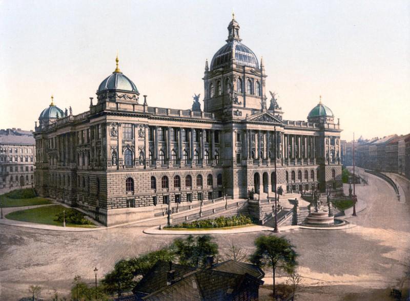 Национальный музей - 1900 год