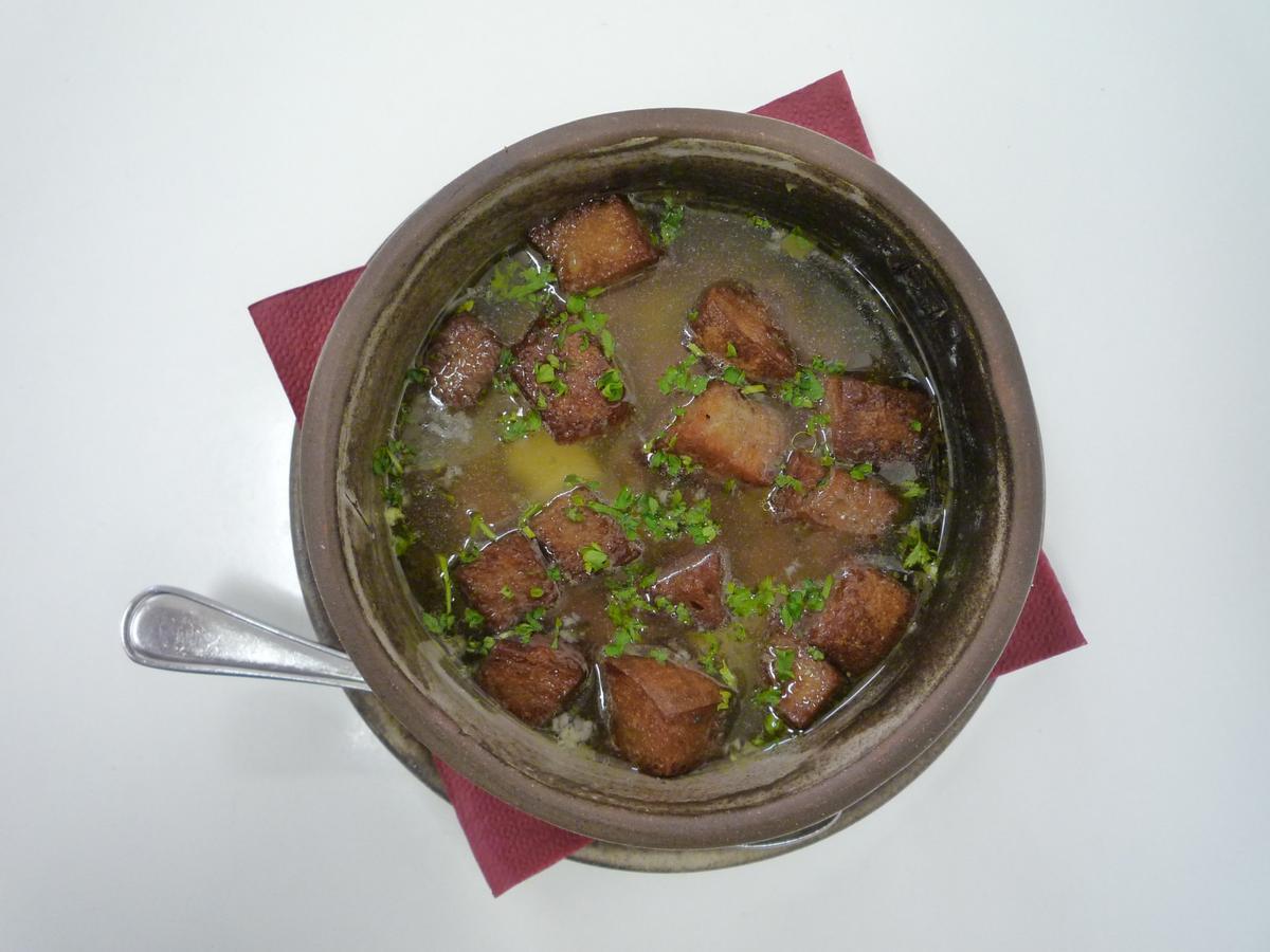 Чесночный суп по чешски рецепт с фото