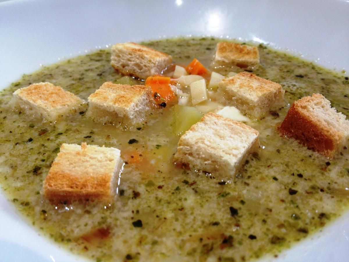 Чесночка рецепт чешский суп
