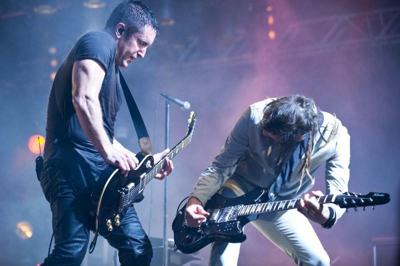 Nine Inch Nails в Праге 3
