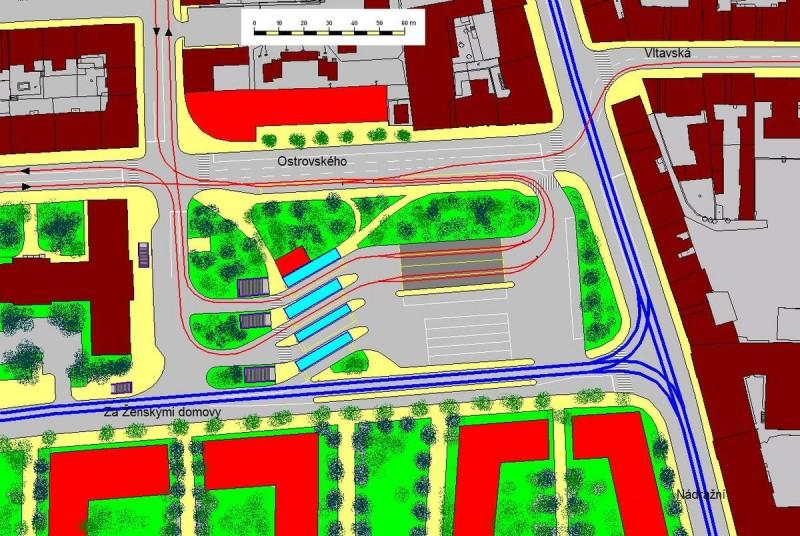 Автовокзал На Книжеци - схема