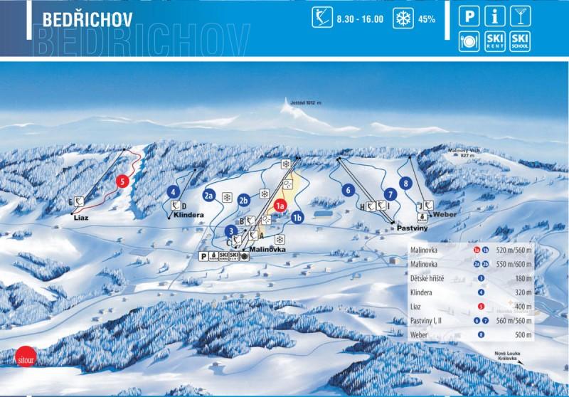 Бедржихов карта катания