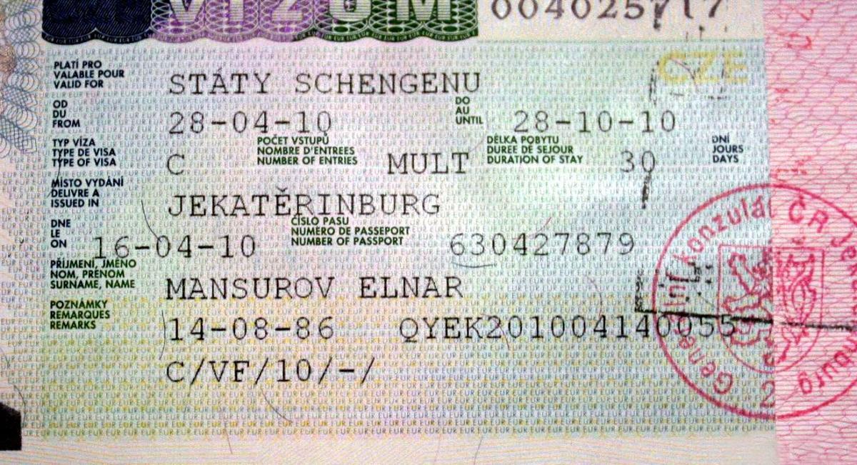 Как сделать в украине визу в чехию