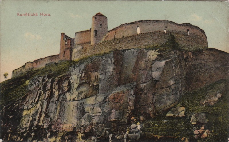 Замок Кунетицка Гора - история