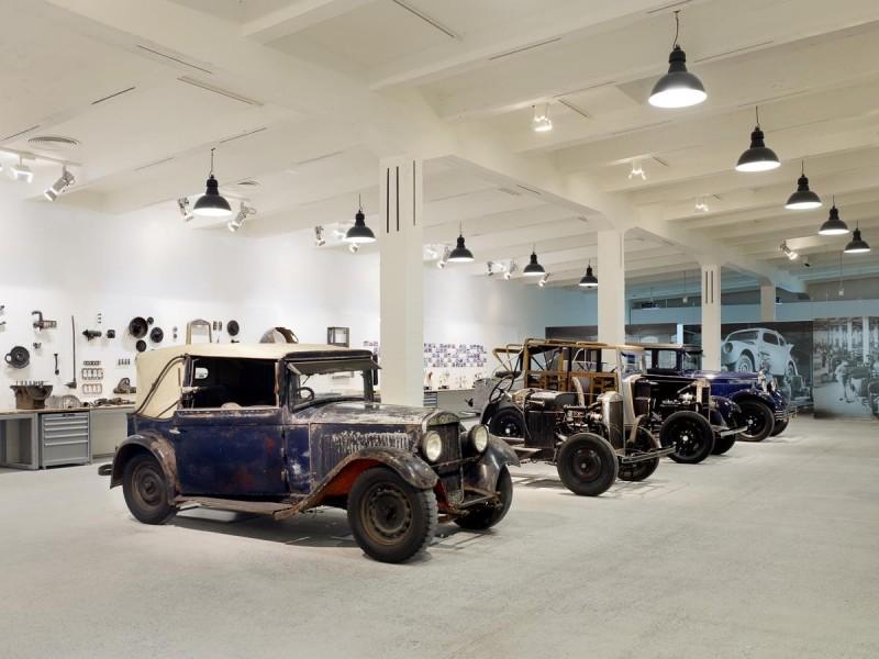 Музей Шкоды - востановление