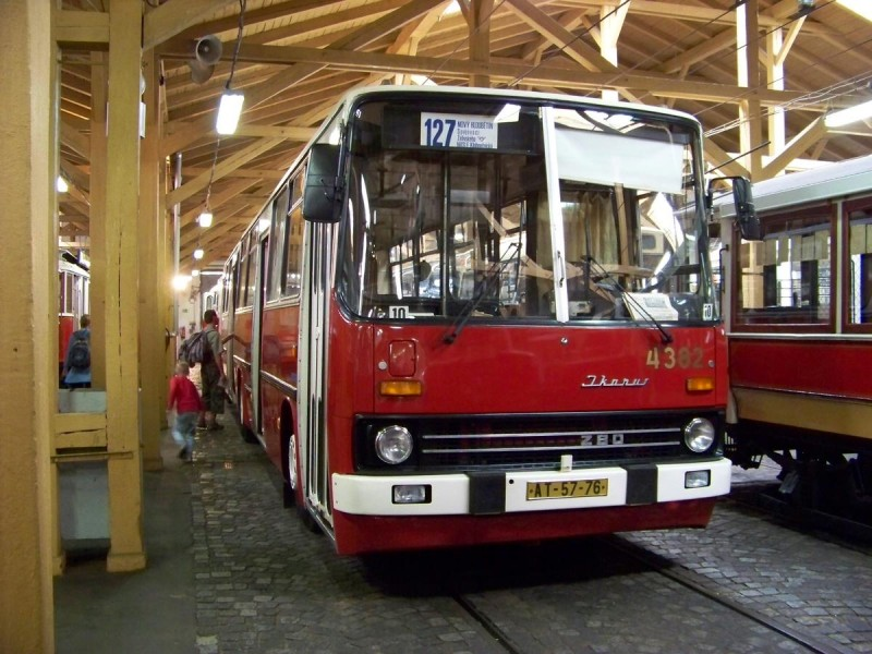 Музей общественного транспорта - икарус