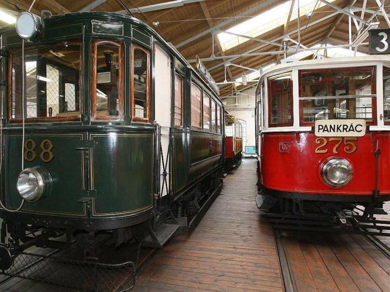 Музей общественного транспорта - трамваи