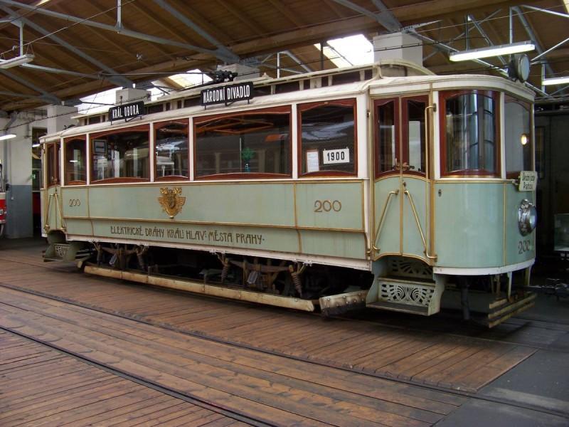 Музей общественного транспорта - 200 трамвай