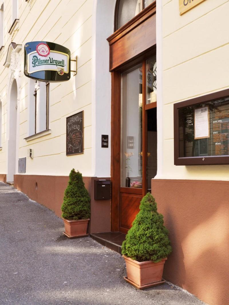 Restaurace - вход2