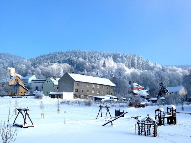 Лазне-Кинжварт - зимой